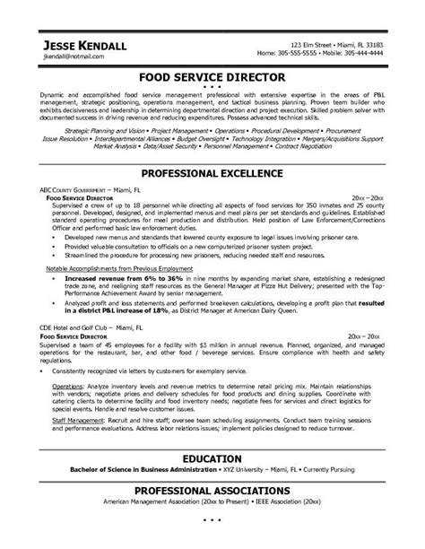 Sle Resume Food Beverage Server Professional Food And Beverage Server 28 Images Food Services Resume Exles Resume