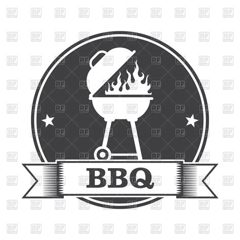 clipart vector barbecue bbq and grill st royalty free vector