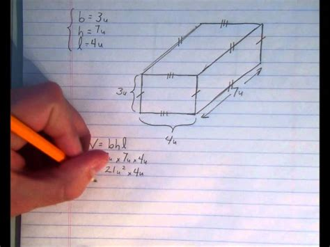 How To Make A 3d Rectangle Out Of Paper - 3d measurement surface area and volume of rectangular