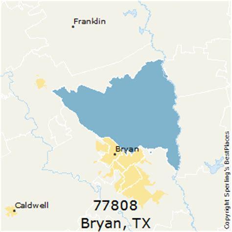 bryan texas zip code map best places to live in bryan zip 77808 texas