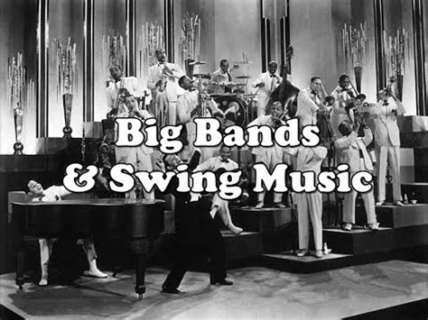 big band swing musicians history brief big bands swing in the 1930s