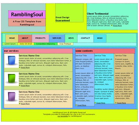 layout html css pdf david j hark s advanced css training