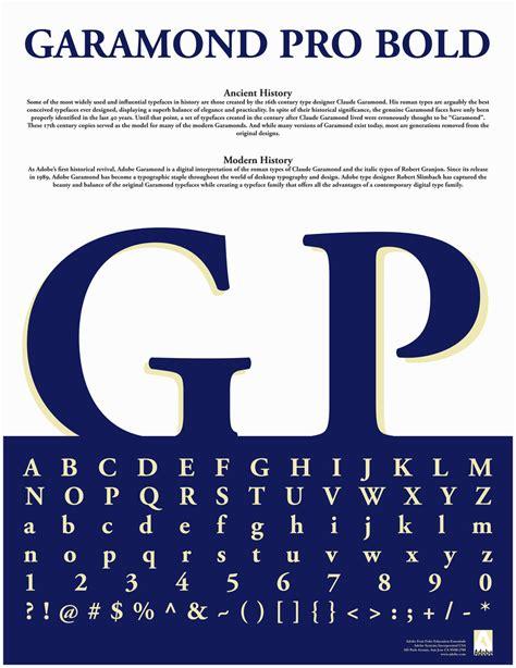 typography classes garamond typography poster 4 by ottenadd on deviantart