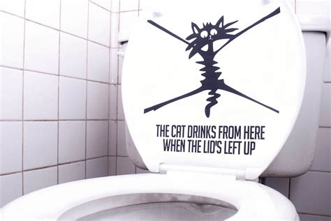 Future Toilet Never Leave The Seat Up Again by How To Make Your Own Quot Put Toilet Seat Quot Sticker 7 Steps
