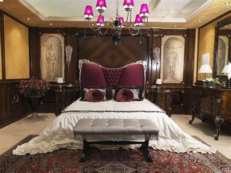 letti di lusso letto di lusso con testata imbottita stile classico
