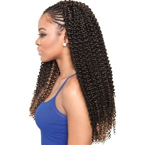 braided weave hairstyles pictures isis collection caribbean bundle braids cork screw