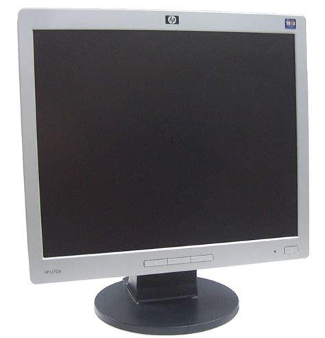 Monitor Lcd Hp L1706 Hp L1706 17 Quot Lcd Silver Monitor Grade C Ebay