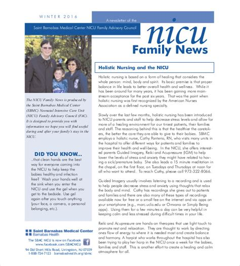 family newsletter template family newsletter template 10 free psd pdf documents