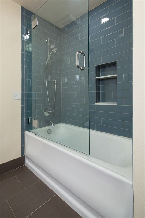 bathtub glass panel glass doors for bathtub homesfeed