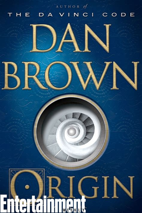 dan brown origin see the cover