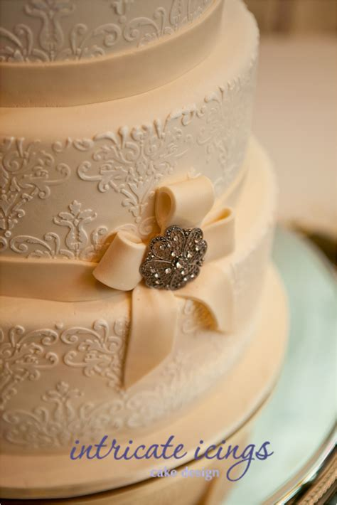 Wedding Cakes Vintage by Sanny T Studio Vintage Cake I