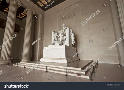 lincoln statue washington dc statue abraham lincoln lincoln memorial washington stock