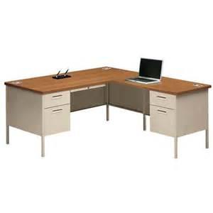 L Shaped Workstation Desk Hon Metro Classic 66 L Shaped Desk Workstation P3266l P3235r Free Shipping