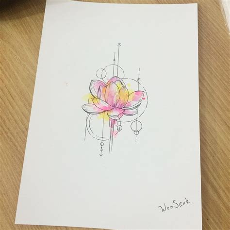 1000 ideas about small watercolor tattoo on pinterest tatouage lotus 1000 id 233 es sur le th 232 me watercolor lotus