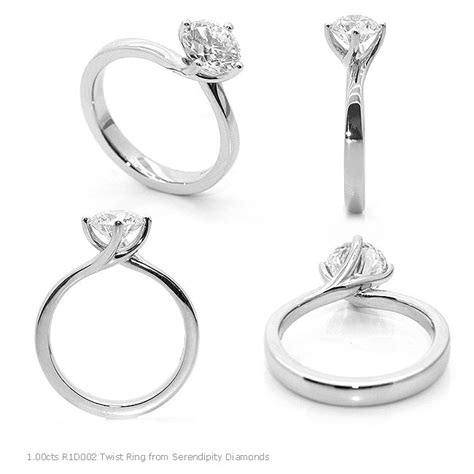 25 best ideas about twist engagement rings on