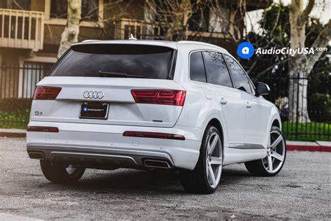 Audi Q7 Rims by 22 Quot Varro Wheels Vd05 Matte Silver Dual Concave Rims