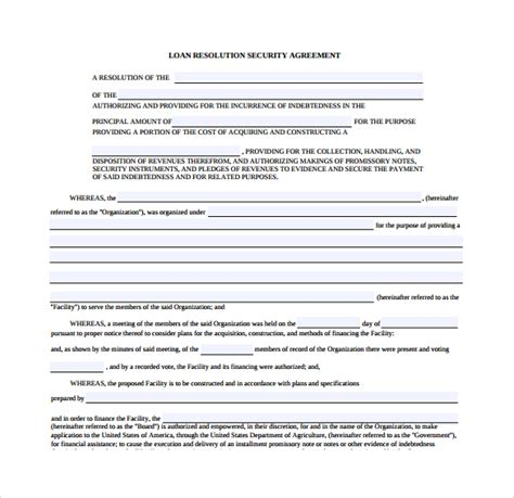 security company contract template security agreement 9 free documents in pdf word