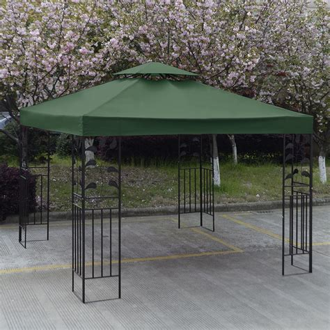 Patio Canopy Gazebo Convenience Boutique Outdoor 10 X 10 Patio Canopy Gazebo Top Replacement