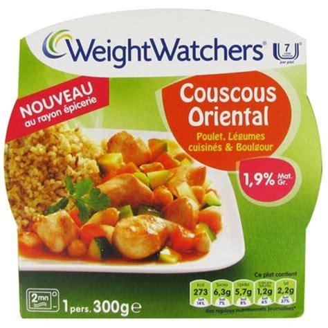 plats cuisin駸 weight watchers avis couscous au poulet legumes et boulgour weight