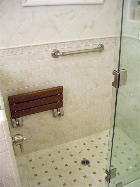 bathroom shower with seat folding shower seat bathroom traditional with bath room