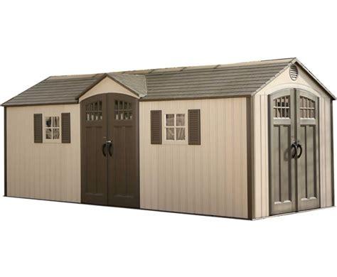 lifetime   style storage shed kit  floor
