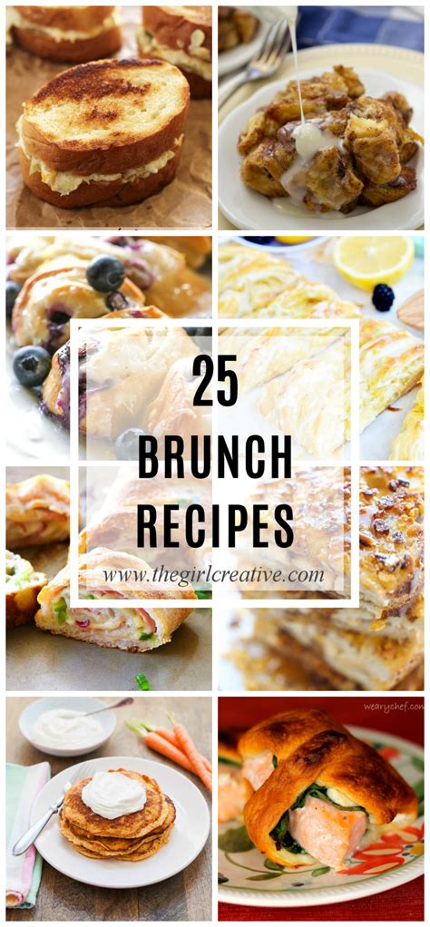 25 delicious brunch recipes the girl creative