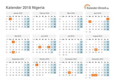 Kalender 2018 Juni Feiertage Feiertage 2018 Nigeria Kalender 220 Bersicht