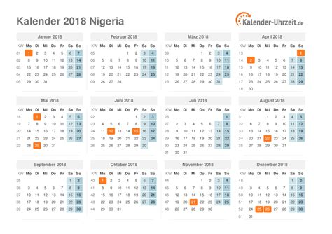 Niger Calend 2018 Niger Kalender 2018 28 Images Calendar 2018 Nigeria 28