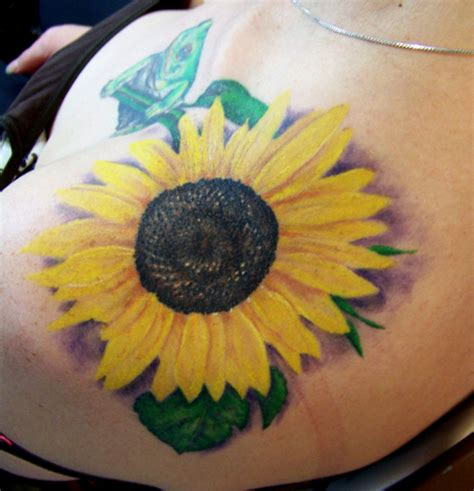 35 tremendous sunflower tattoo designs slodive