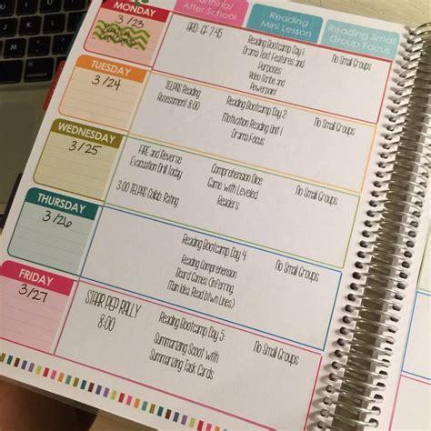 printable teacher planner etsy digital teacher planner editable lesson plan template by