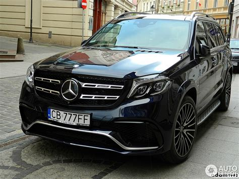 2017 Mercedes Gls 63 Amg by Mercedes Amg Gls 63 11 May 2016 Autogespot