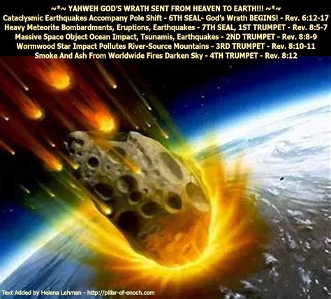 pillar of enoch ministry yahweh god s wrath sent