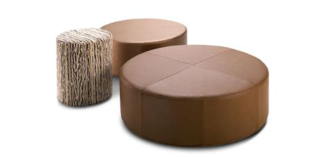 king furniture ottoman cushions ottomans in fabric and leather king living