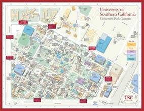 southern california colleges map of southern california cus map mapsof net