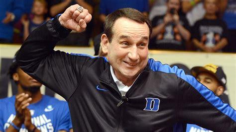 couch k duke basketball coach k blue devils return home share