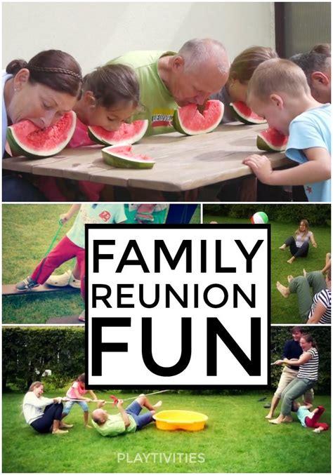 Backyard Family Reunion Family Reunion Activities For
