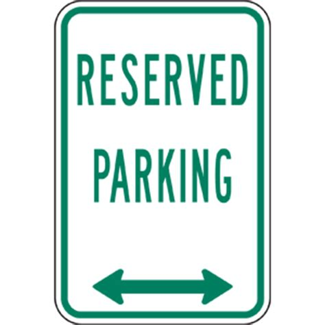 reserved parking signs template reserved parking sign clipart