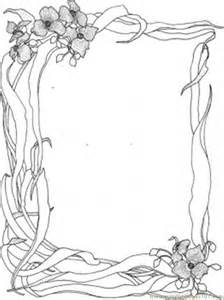 Galerry smiling flower coloring pages