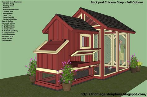 backyard chickens coop plans home garden plans s101 chicken coop plans construction