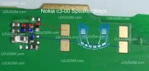 Speker Hp Nokia C3 nokia c3 00 speaker earpiece not working problem solution jumpers gsm forum