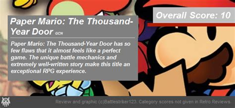 Paper Mario The Thousand Year Door Review retro review paper mario the thousand year door gcn