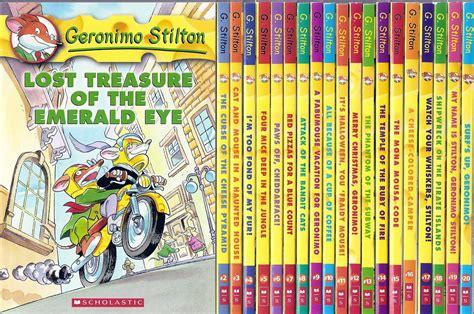 geronimo stilton books pictures top 10 children s book series
