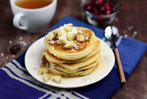 cara membuat pancake waluh resep pancake havermut dengan filling kacang merah was
