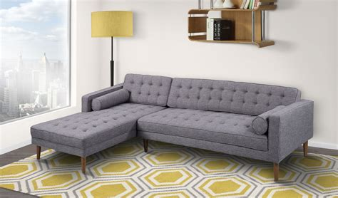 laf sectional element dark gray linen laf sectional from armen living