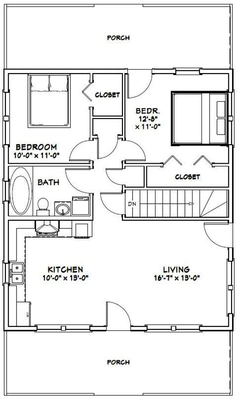 excellent floor plans 28x32 house 28x32h2k 848 sq ft excellent floor