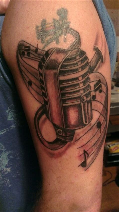 microphone tattoo meaning 93 best images about tattoos on pinterest upper arm