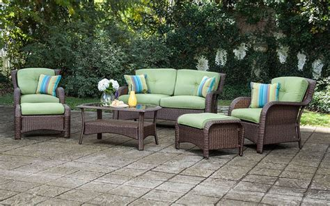 best wicker patio furniture best resin wicker outdoor patio furniture sets on