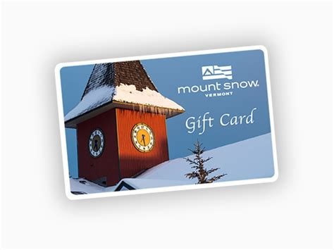 gift cards - Mount Snow Gift Card