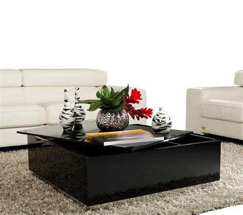 modern coffee table with storage 857ct
