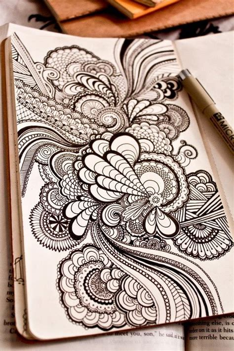 zentangle pattern journal click image to find more tattoos pinterest pins